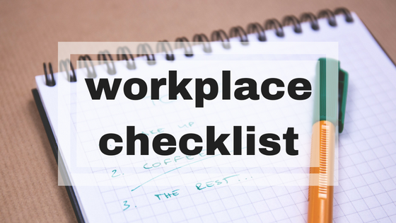 workplace checklist