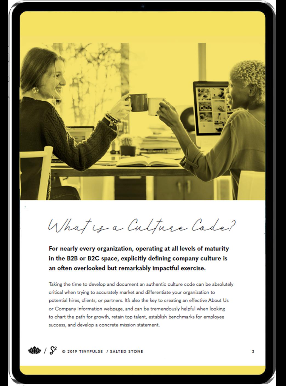 Culture Code Workbook 2