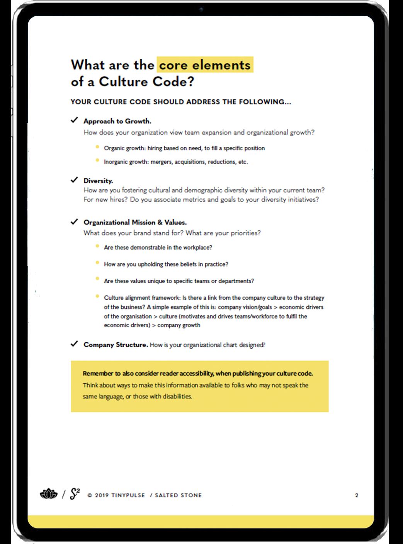 Culture Code Workbook4