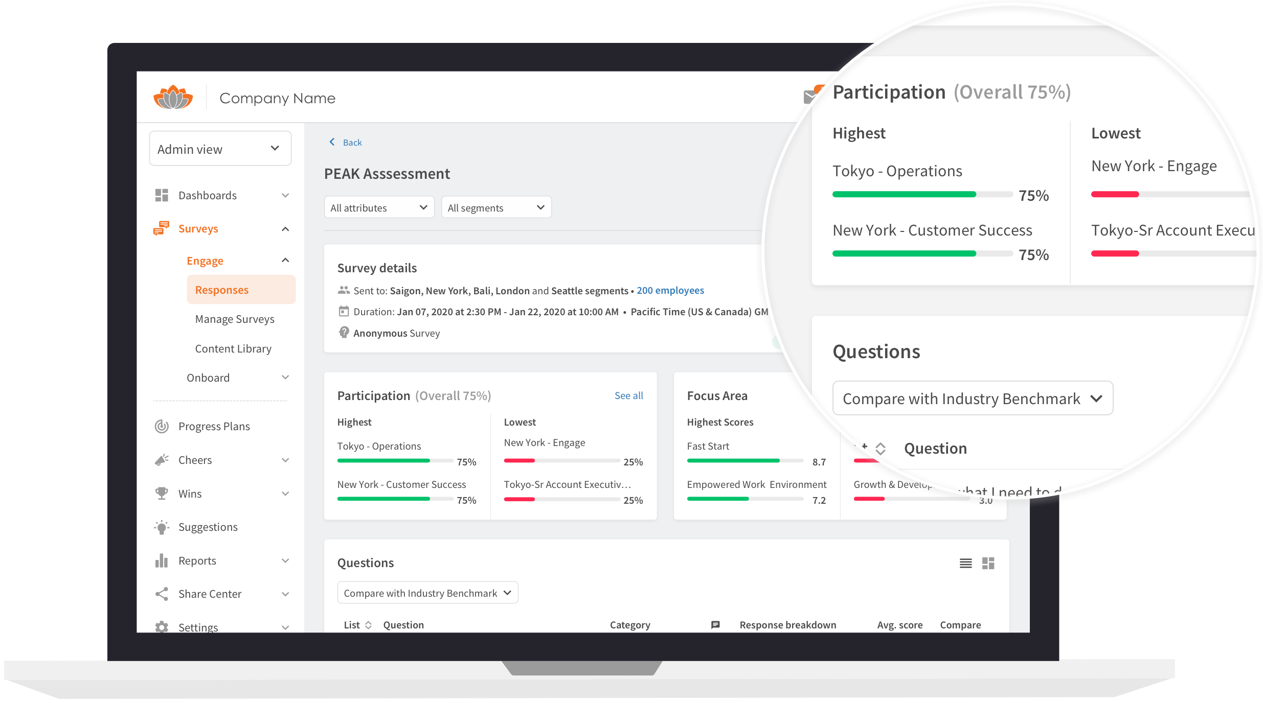 Engage - Know where your teams stand