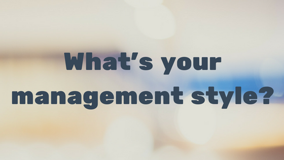 The 6 Types Of Management Styles Infographic