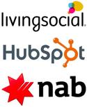 HubSpot, Livingsocial and National Australia Bank